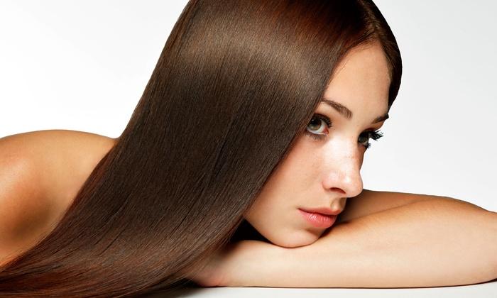 Восстановление волос с помощью аппарата Molecule Professional