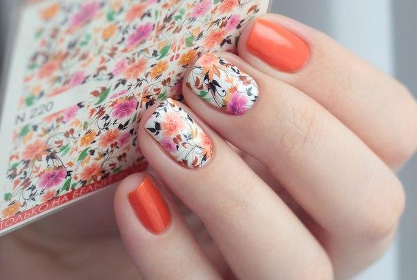 Слайдер-дизайн для ногтей в салоне красоты «Афродита»