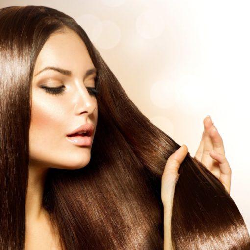 Кератиновое восстановление и выпрямление волос в салоне красоты «Афродита»