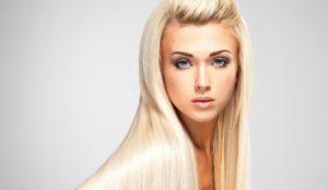Кератиновое выравнивание волос для блондинок